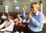 Tỉnh ủy tổ chức Hội nghị lấy ý kiến đóng góp vào Dự thảo Văn kiện Đại hội XIII của Đảng