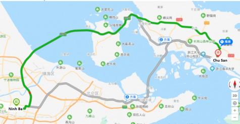 Trung Quốc khoan đường sắt cao tốc dưới biển