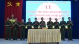 Lực lượng vũ trang tỉnh: Sôi nổi thi đua chào mừng Đại hội Đảng bộ các cấp