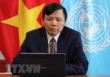 越南呼吁世界各国共同分担难民问题的负担和责任