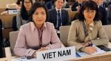 越南代表出席日内瓦国际人道主义排雷中心执行委员会会议
