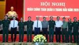 阮春福总理出席2020年上半年全军军政会议