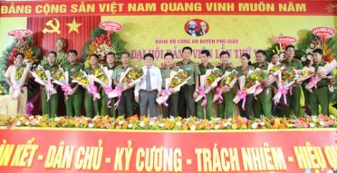 Đảng bộ Công an huyện Phú Giáo: Đoàn kết thực hiện thắng lợi các chỉ tiêu đề ra