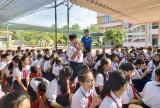 Công an huyện Bàu Bàng: Tuyên truyền giáo dục pháp luật cho học sinh
