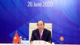 越南政府总理阮春福主持召开第36届东盟峰会全体会议