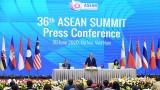 越南政府总理阮春福出席记者会 通报第36届东盟峰会圆满成功