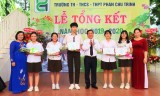Trường TH – THCS - THPT Phan Chu Trinh tổng kết năm học 2019 - 2020