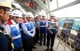 范平明副总理视察滨城-仙泉地铁项目