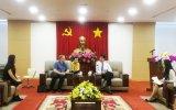 平阳省领导人会见丹麦大使馆工作代表团