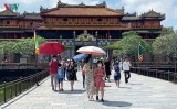 Foreign arrivals down sharply with no holidaymakers in June