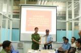 Ra mắt Đội công nhân xung kích tự quản về an ninh trật tự tại Công ty Hưng Hải Thịnh