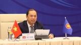 第26次东盟与中国高官磋商以视频方式举行