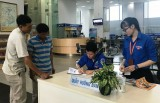 Dấu ấn tình nguyện viên tại Trung tâm Hành chính công