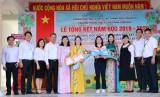 Trường THCS Trịnh Hoài Đức (Tp.Thuận An): Khen thưởng học sinh