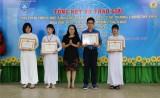 Sở Giáo dục-Đào tạo: Trao giải học sinh giỏi giải thưởng Sao Khuê và giải thưởng Lương Thế Vinh cho 47 học sinh, học viên