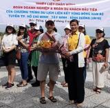 Đón đoàn du khách đầu tiên trong chương trình liên kết du lịch vùng Đông Nam bộ