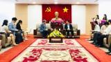 平阳省会见KOICA驻越南代表处工作团