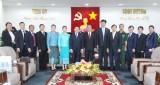 Lãnh đạo tỉnh tiếp Đại sứ đặc mệnh toàn quyền Cộng hòa Dân chủ Nhân dân Lào tại Việt Nam