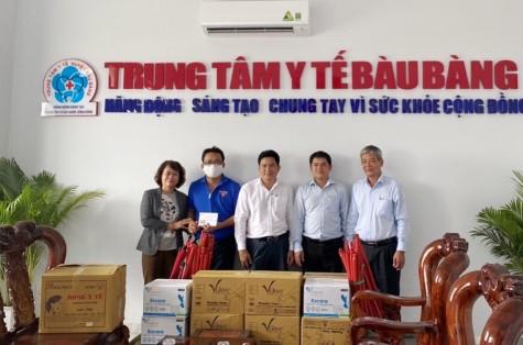 Nhiều nhà hảo tâm hỗ trợ vật chất cho khu cách ly tập trung huyện Bàu Bàng