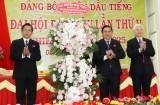 Khai mạc Đại hội đại biểu Đảng bộ huyện Dầu Tiếng nhiệm kỳ 2020-2025