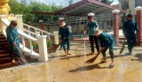 Đoàn viên thanh niên thực hiện công trình tô đẹp thành phố, ra quân Ngày thứ bảy tình nguyện