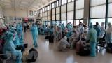 越南接收从新加坡回来的240名公民