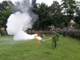 Huấn luyện kỹ năng phòng cháy chữa cháy và cứu nạn cứu hộ tại trường Sĩ quan công binh