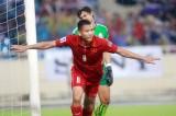 Tiền đạo Anh Đức thi đấu trở lại, trong màu áo HAGL