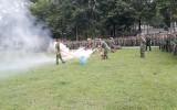 Huấn luyện kỹ năng PCCC và CNCH tại trường Sĩ quan Công binh tỉnh