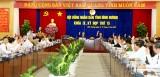 Khai mạc kỳ họp thứ 15, HĐND tỉnh khóa IX