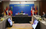 2020东盟年:东盟召开高官视频会议