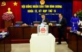 Kỳ họp HĐND tỉnh lần thứ 15, khóa IX: Thông qua nhiều nội dung quan trọng