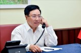 Deputy PM holds phone talks with Korean Foreign Minister