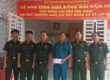 Ban Chỉ huy Quân sự huyện Bàu Bàng: Tổ chức bàn giao Nhà đồng đội