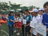 Công đoàn Khu công nghiệp Việt Nam - Singapore: Tổ chức giải bóng đá mini nam công nhân lao động