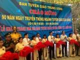 Khánh thành công trình Cải tạo, nâng cấp Nhà bia kỷ niệm Ban Tuyên huấn Trung ương