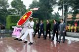 Lãnh đạo tỉnh viếng Nghĩa trang liệt sĩ nhân kỷ niệm 73 năm Ngày Thương binh - Liệt sĩ