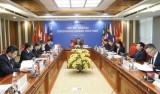 亚审组织理事会第55次会议以视频方式召开