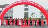 巴乌邦县:一些庆祝县党部代会的工程开工和落成