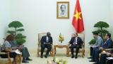 越南政府总理阮春福会见尼日利亚驻越大使