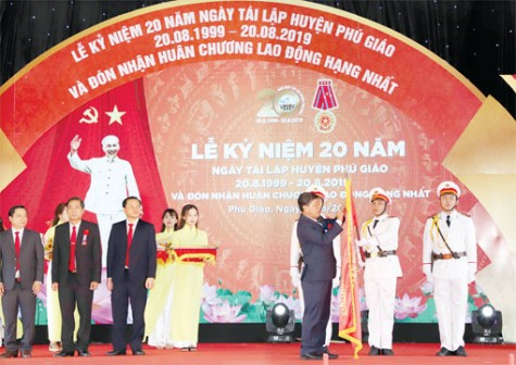 Phu Giao bound for advanced new-style rural region