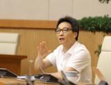武德儋副总理:决不能让疫情在大面积扩散蔓延