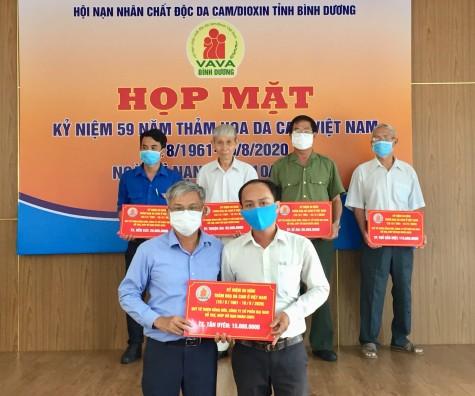 Họp mặt kỷ niệm 59 năm Ngày thảm họa da cam Việt Nam (10.8.1961-10.8.2020)