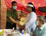 Lãnh đạo Bộ Công an và lãnh đạo tỉnh đến viếng chiến sĩ công an hy sinh trong lúc làm nhiệm vụ