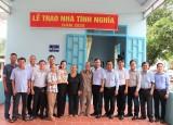 Trao nhà tình nghĩa cho con liệt sĩ tại xã Tân Hưng, huyện Bàu Bàng