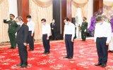 Đoàn lãnh đạo tỉnh Bình Dương viếng nguyên Tổng Bí thư Lê Khả Phiêu