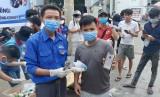 Hỗ trợ công nhân phòng chống dịch bệnh
