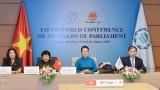越南国会主席阮氏金银出席第五次世界议长大会视频会议