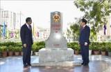 《越中陆地边界条约》签署20周年和有关越中陆地边界的三份法规文件实施10周年纪念活动举行