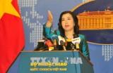 中国连续在黄沙群岛开展的军演活动侵犯了越南的主权